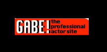 Gabe the professional actor
